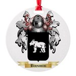 Binyamini Round Ornament