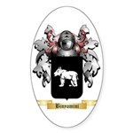 Binyamini Sticker (Oval)
