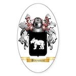 Binyamini Sticker (Oval 10 pk)