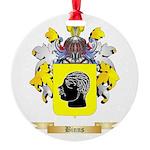 Binns Round Ornament