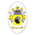 Binns Sticker (Oval 10 pk)