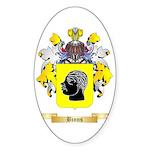 Binns Sticker (Oval 50 pk)