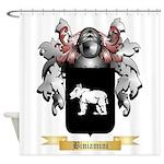 Biniamini Shower Curtain
