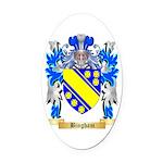 Bingham Oval Car Magnet