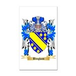 Bingham Rectangle Car Magnet