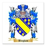Bingham Square Car Magnet 3