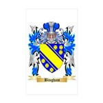 Bingham Sticker (Rectangle 10 pk)