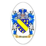 Bingham Sticker (Oval 50 pk)