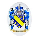 Bingham Ornament (Oval)
