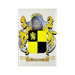 Bingaman Rectangle Magnet