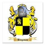 Bingaman Square Car Magnet 3