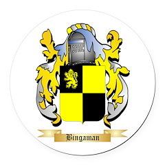 Bingaman Round Car Magnet