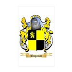 Bingaman Sticker (Rectangle 10 pk)
