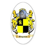 Bingaman Sticker (Oval 10 pk)