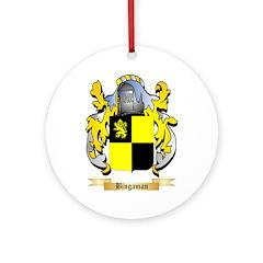 Bingaman Ornament (Round)