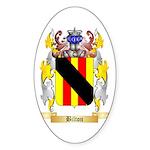 Bilton Sticker (Oval 50 pk)