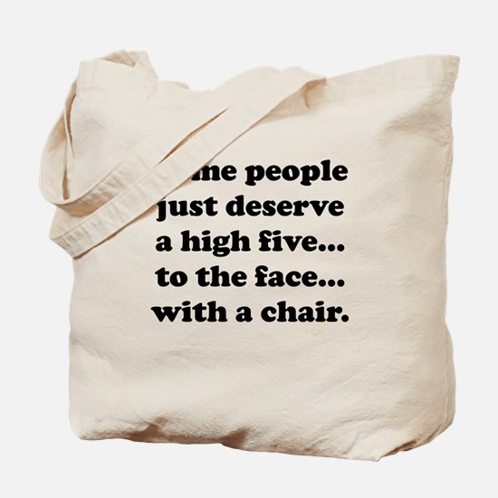 High Five To The Face Tote Bag