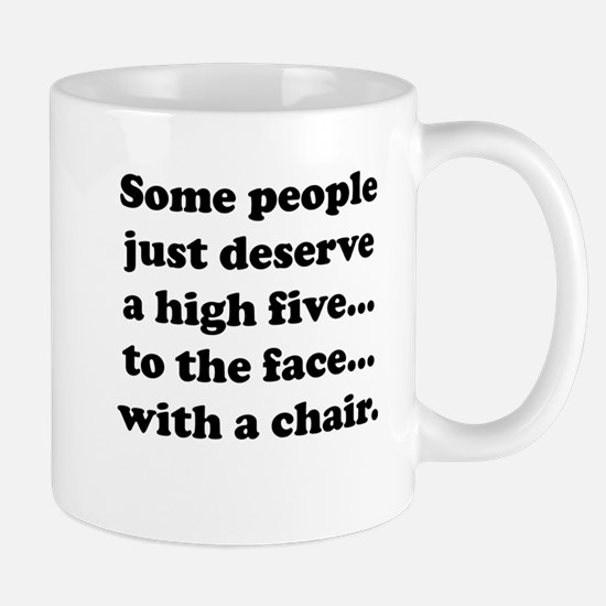 High Five To The Face Mug