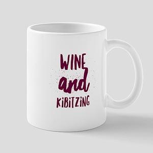 Wine and Kibitzing Mugs