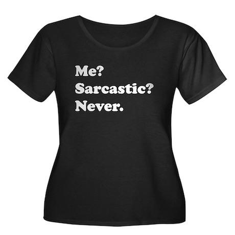 Sarcastic Plus Size T-Shirt
