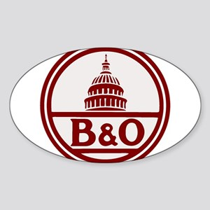 B&O railroad design Sticker