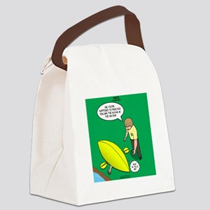 Kayak Rolling Canvas Lunch Bag