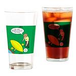 Kayak Rolling Drinking Glass