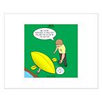 Kayak Rolling Small Poster