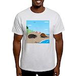 Porcupine Meets Horseshoe Crab Light T-Shirt