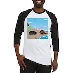 Porcupine Meets Horseshoe Crab Baseball Jersey