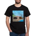 Porcupine Meets Horseshoe Crab Dark T-Shirt
