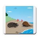 Porcupine Meets Horseshoe Crab Mousepad