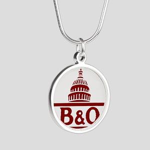 B&O railroad design Necklaces