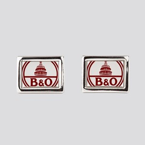 B&O railroad design Rectangular Cufflinks