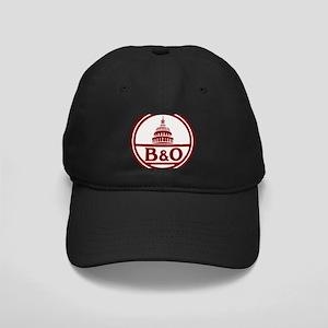 B&O railroad design Black Cap with Patch