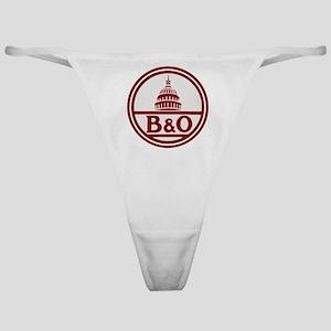 B&O railroad design Classic Thong