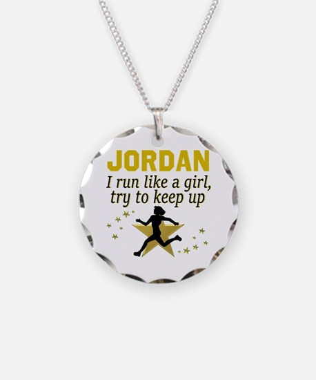 RUN TRACK Necklace