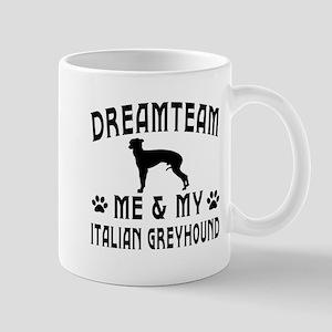 Italian Greyhound Dog Designs Mug