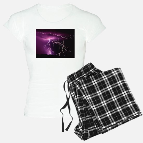 Purple Thunder pajamas