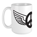 Peace Wing Original Large Mug