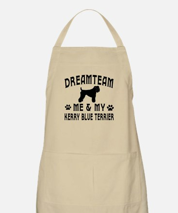 Kerry Blue Terrier Dog Designs Apron