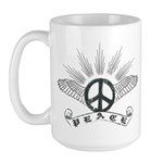 Peace Wing Classic Large Mug