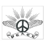 Peace Wing Classic Small Poster