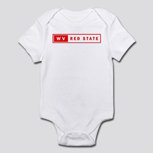 Red State - West Virginia Infant Bodysuit