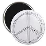 Peace Lines Magnet