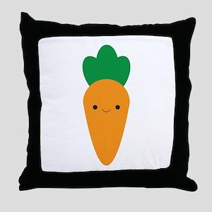 Carrot Throw Pillow