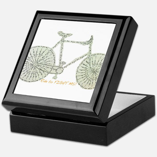 Ride to FIGHT MS! Keepsake Box