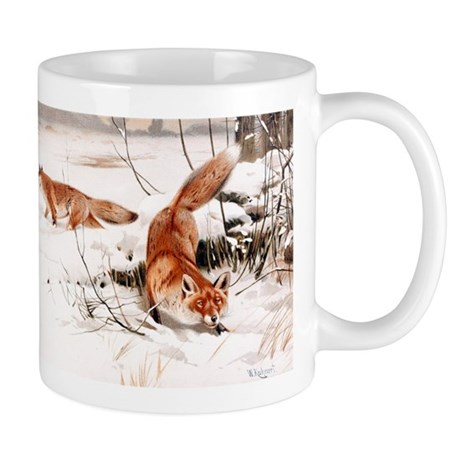 Red Fox in the Snow Mug