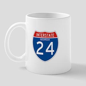 Interstate 24 - GA Mug