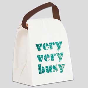 very very busy Canvas Lunch Bag